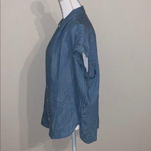 Madewell Tops - Madewell • Central Shirt in Roberta Indigo